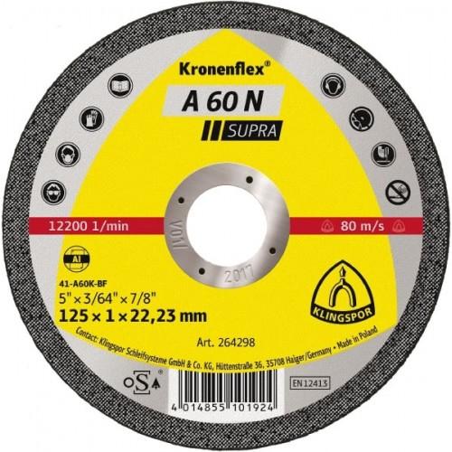 Диск за рязане на алуминий A60 N Klingspor