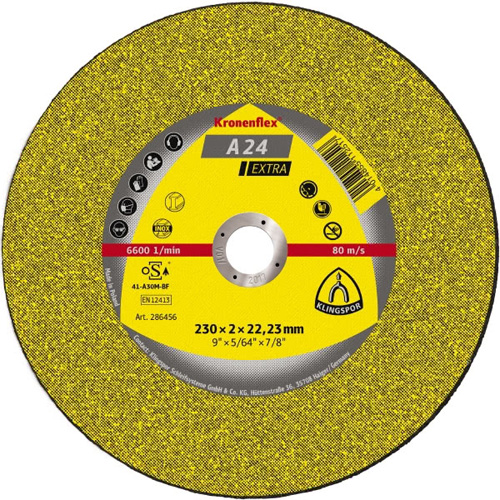 Диск за рязане на метал и неръждаема стомана A24EX Klingspor