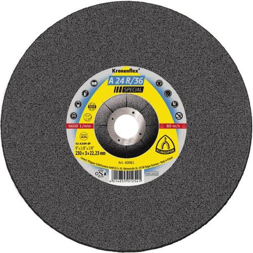 Диск за рязане на неръждаема стомана A24/R 115х2,5х22 Klingspor
