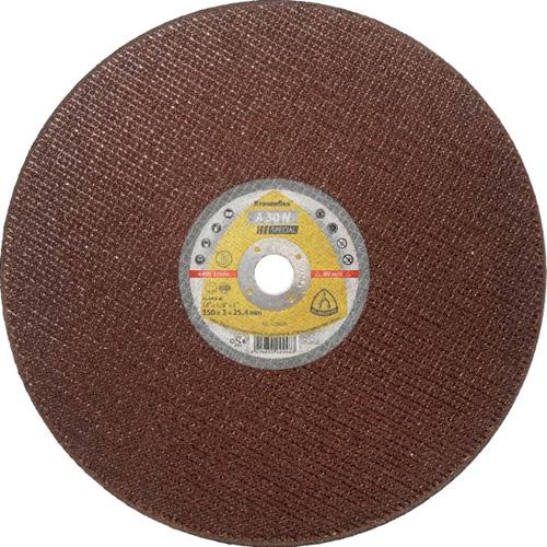 Диск за рязане на стомана A30 N ф350х3х25 Klingspor