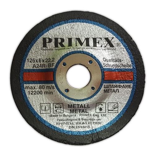 Диск за шлайфане на метал 6x22 Primex