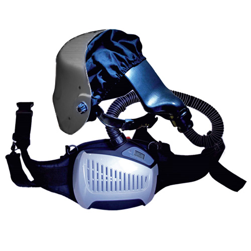 Заваръчна маска с аспирация AS 4000F