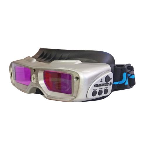 Заваръчни очила фотосоларни AD5 13 с фенер