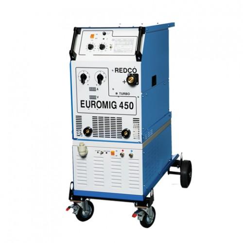 Трансформаторен МИГ-МАГ заваръчен апарат EUROMIG 450 W